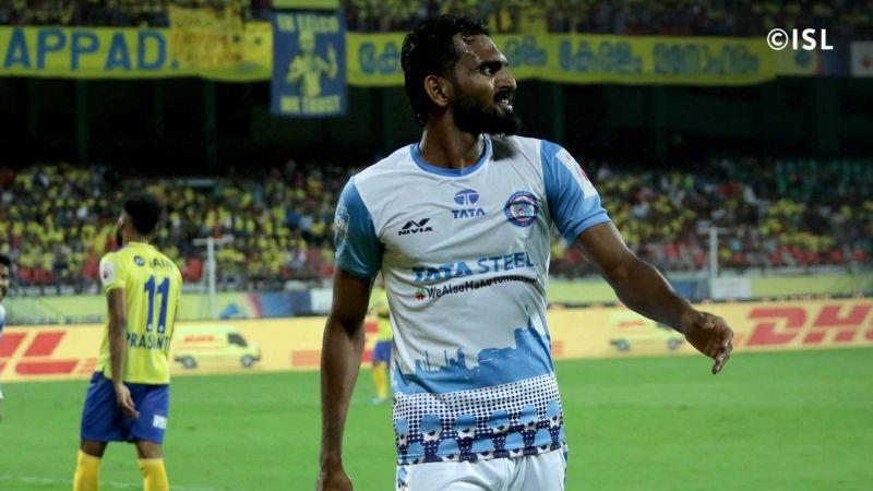 CK Vineeth played the 2019-20 ISL season at Jamshedpur FC (Image credits: ISL)