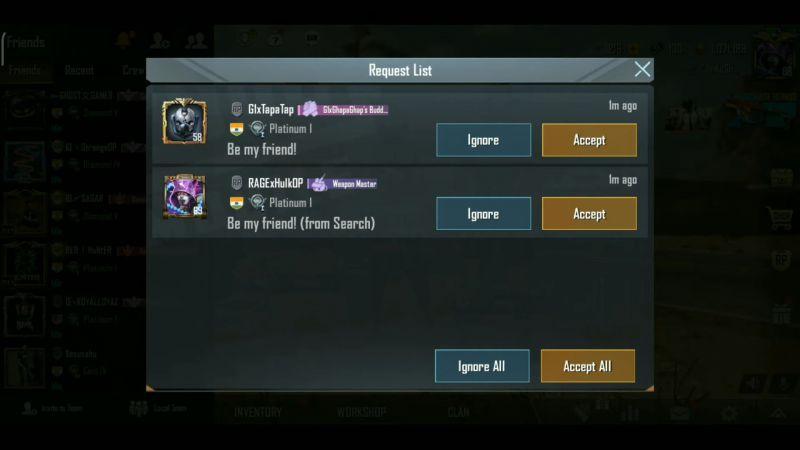 New options in Friendlist