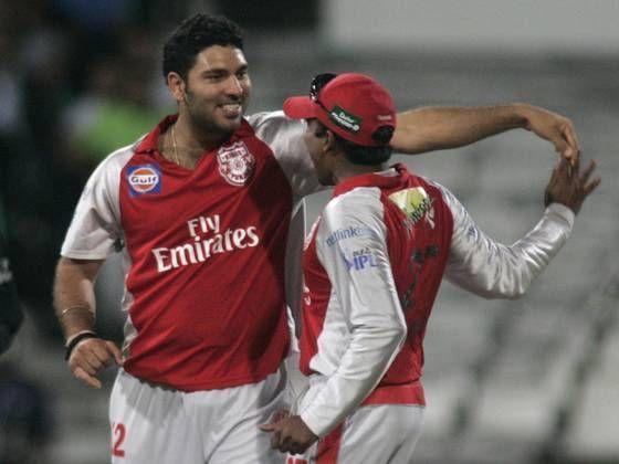युवराज सिंह ने दिग्गज बल्लेबाजों को आउट करते हुए पूरी की हैट्रिक