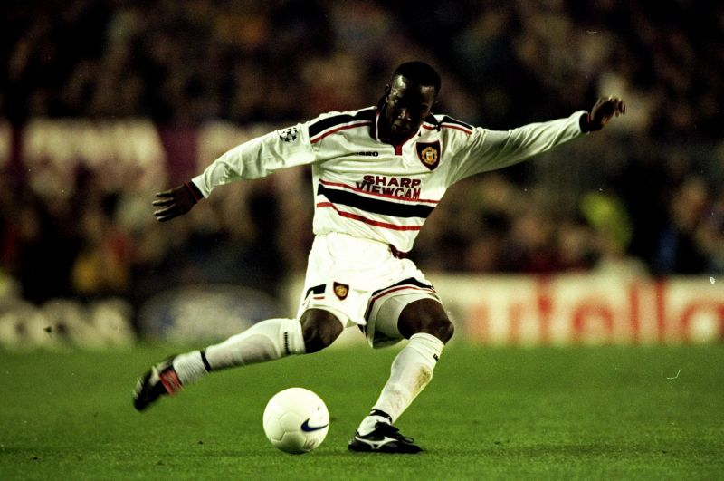 Dwight Yorke was a terror to defend against