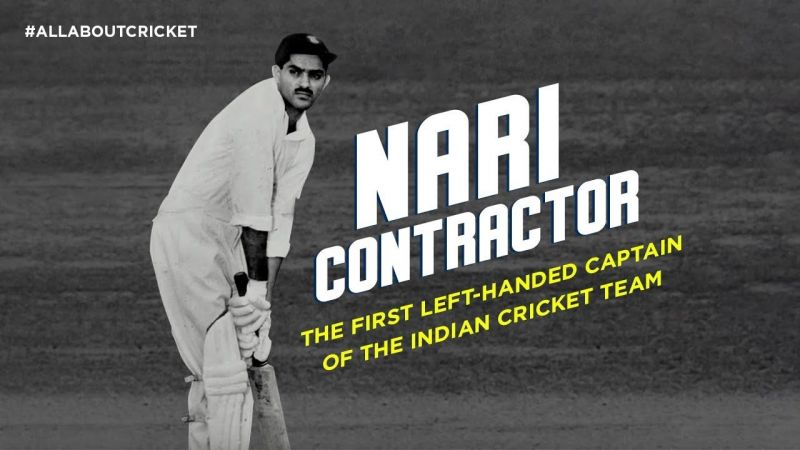 Nari Contractor scored a century in the 1960 Brabourne Test against Australia.