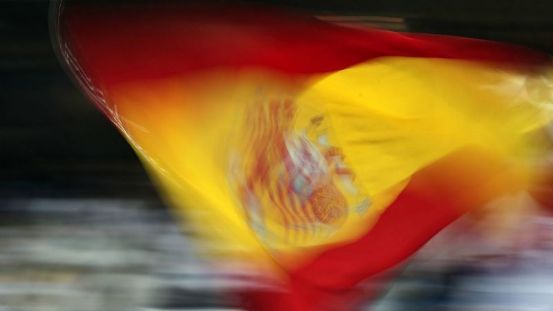 Spain flag - cropped
