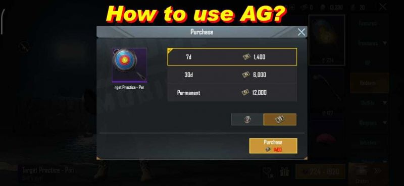 How to use AG?