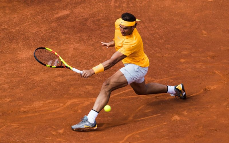 Nobody can run on clay like Rafael Nadal