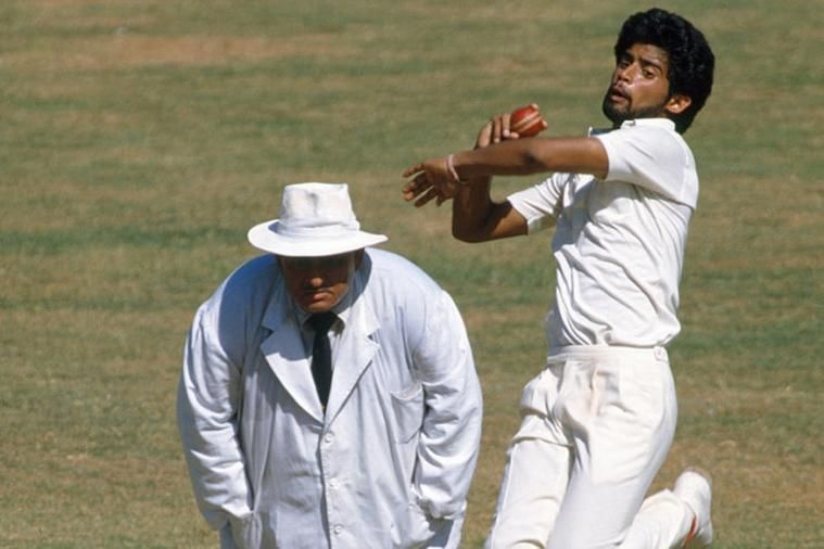 Chetan Sharma bagged a hat-trick against New Zealand in the 1987 World Cup