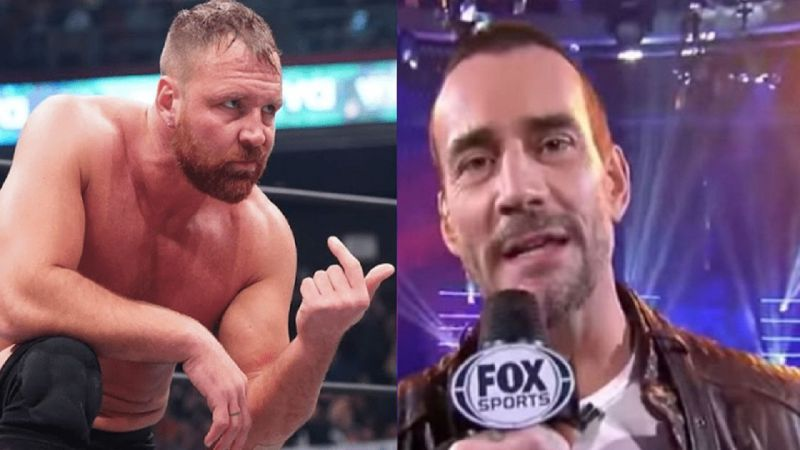 Moxley and CM Punk