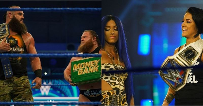 Two great matches and an appearance from the Queen made it a special show