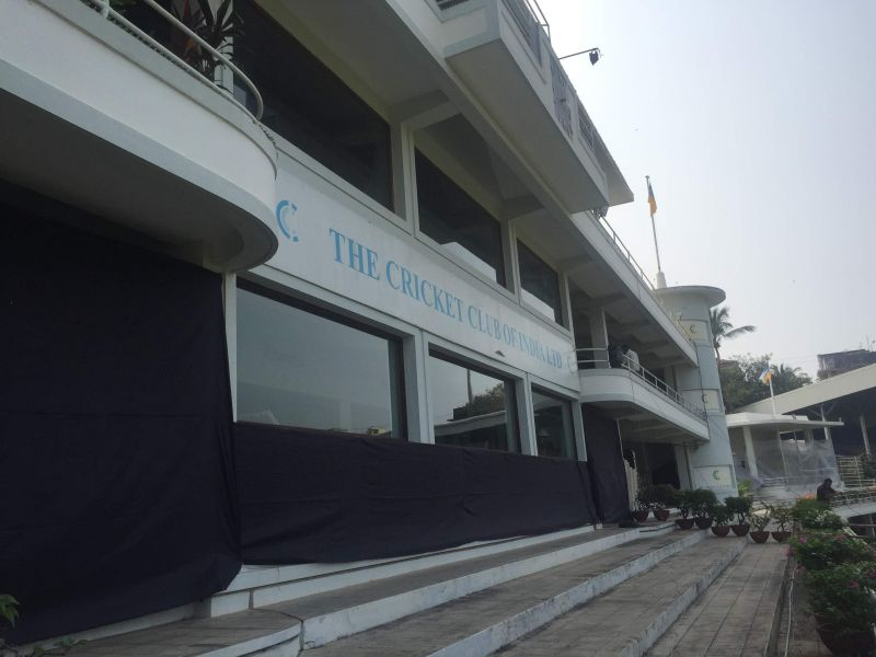 The Cricket Club of India (CCI) at the Brabourne Stadium in Mumbai