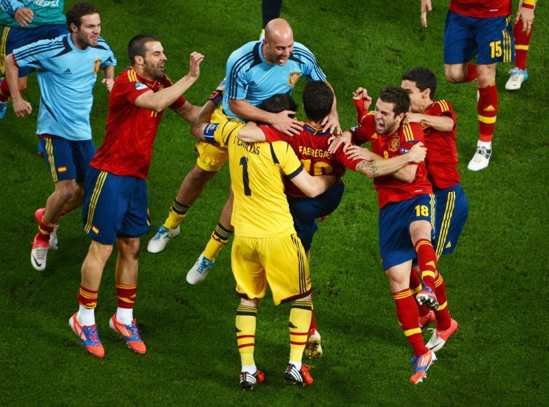 Fabregas was a key cog as Spain won Euro 2012 during a golden generation for the country