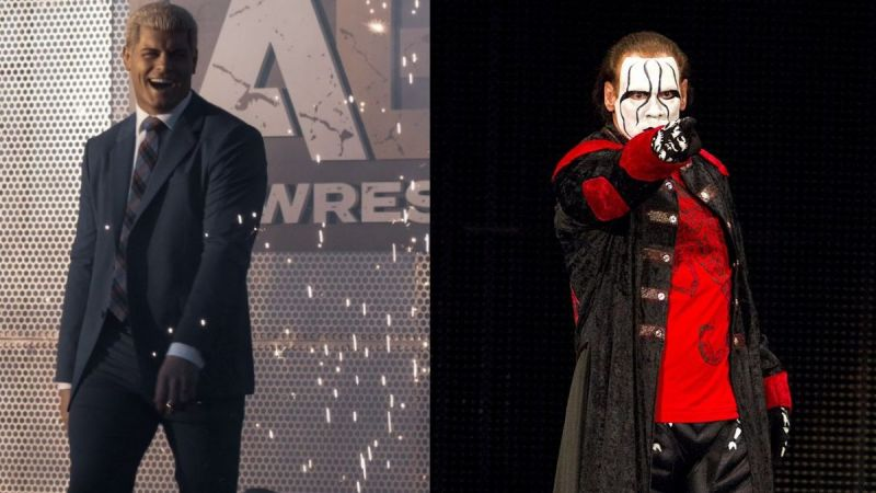 Cody Rhodes and Sting