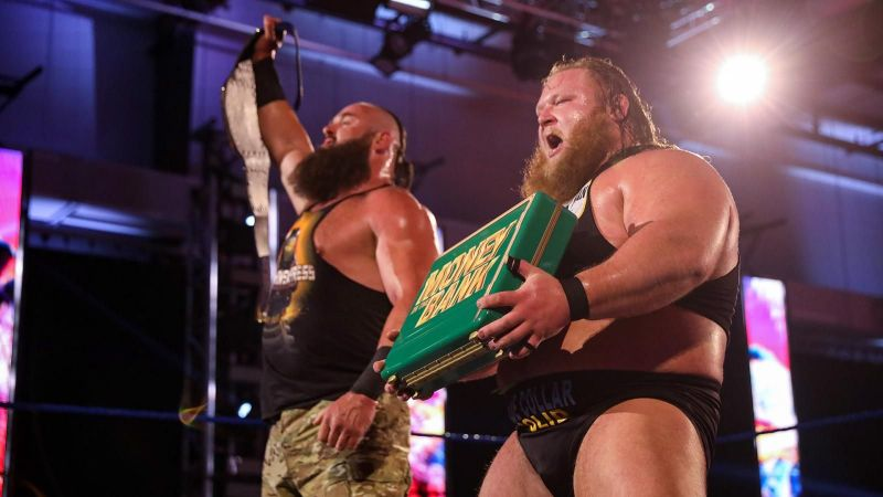 Otis and Strowman stood tall at the end of the night
