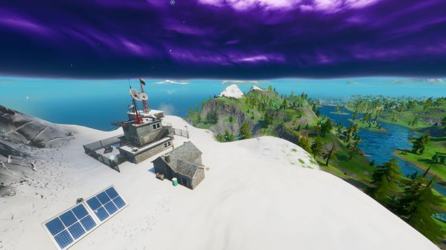 Could rain storms be a part of Fortnite Season 3 storyline? (Image Credits: Pc Games news)