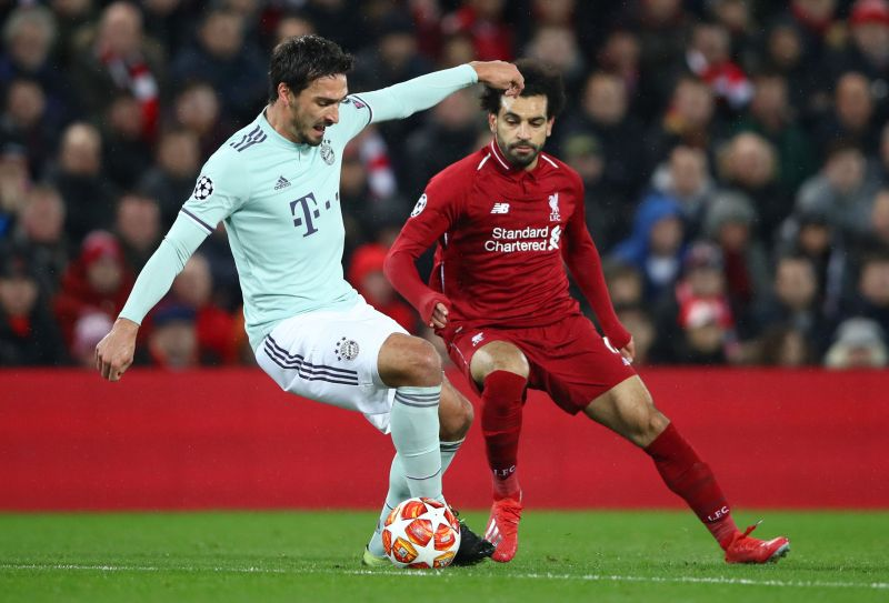 Mats Hummels in action against Liverpool