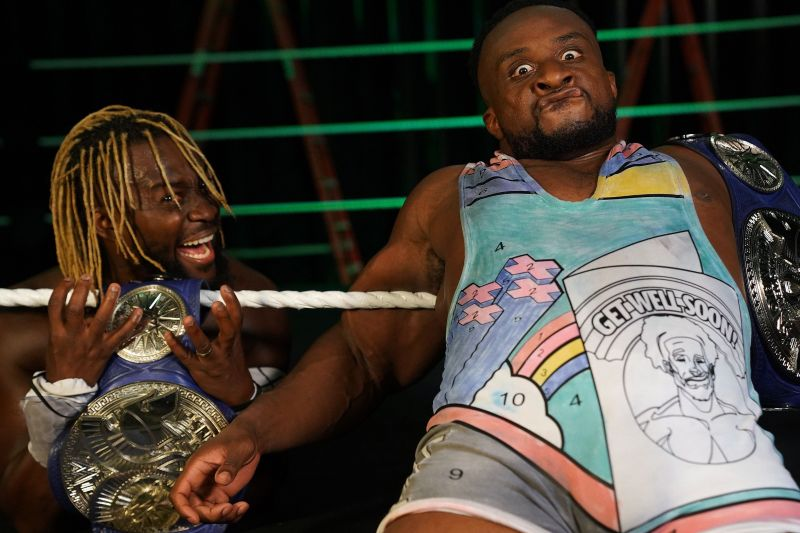 The New Day retains!