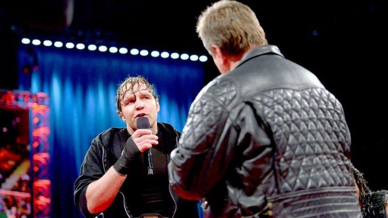 Dean Ambrose and Roddy Piper