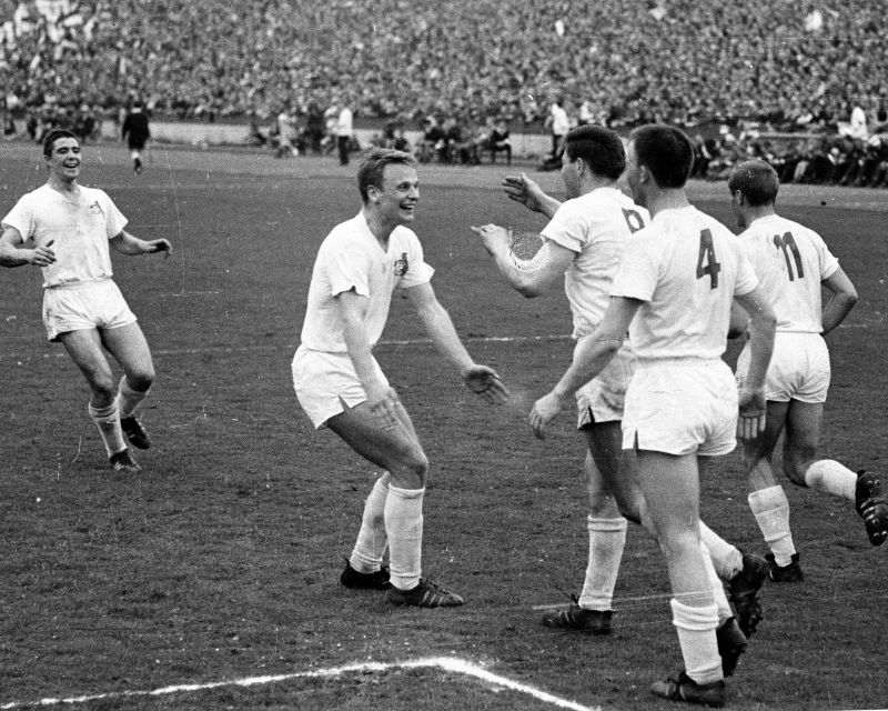 FC Koln were the surprise first winners of the Bundesliga in 1962-63.