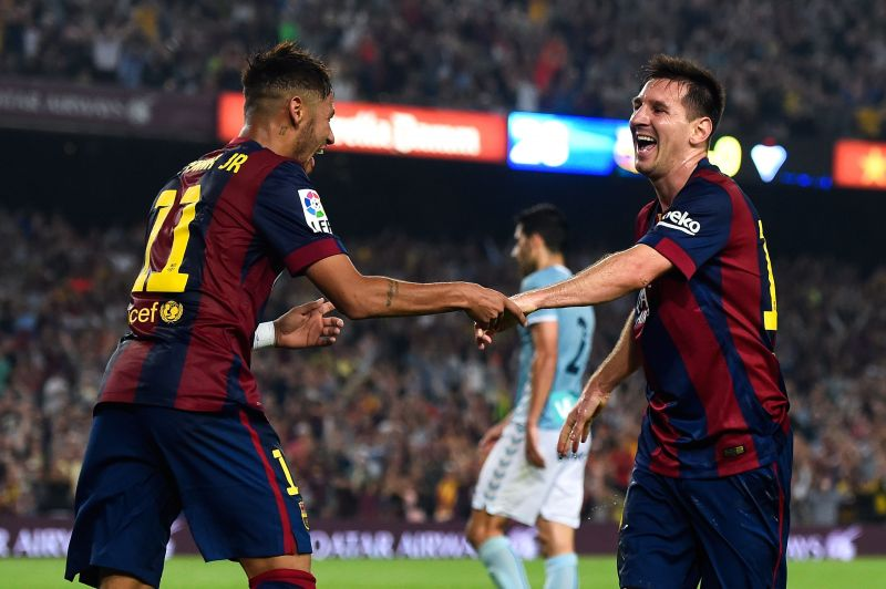 Lionel Messi refused to be substituted in a 2014 match with Eibar - and so Neymar was withdrawn instead