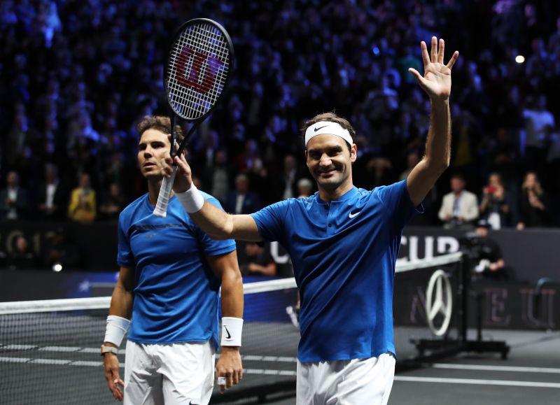 Roger Federer is six years older than Rafael Nadal