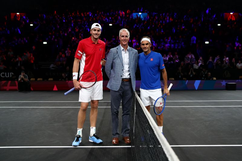"""Roger Federer is a """"natural"""", says Todd Martin"""