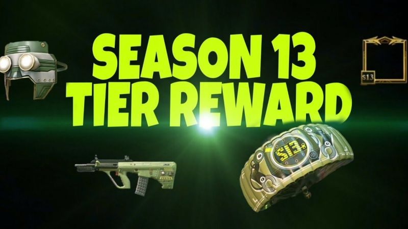 Season 13 Tier Rewards