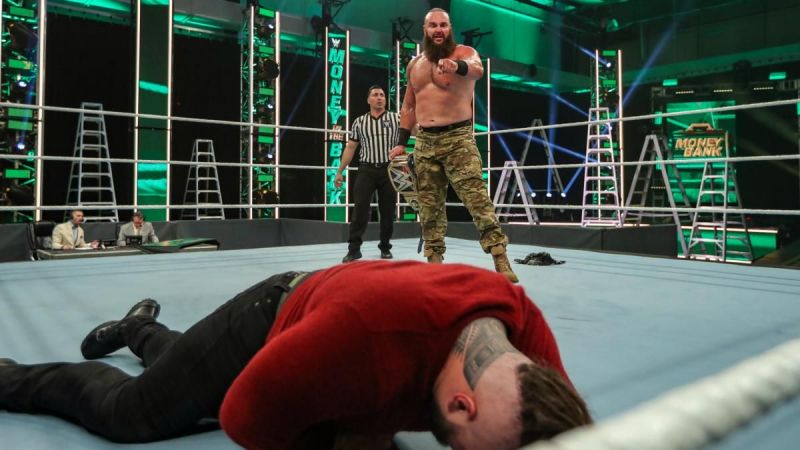 Braun Strowman successfully defended his Universal Championship against Bray Wyatt at Money in the Bank