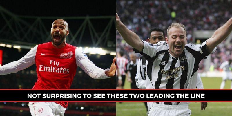 Thierry Henry and Alan Shearer are bonafide Premier League legends