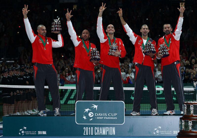 Novak Djokovic played a major part in Serbia