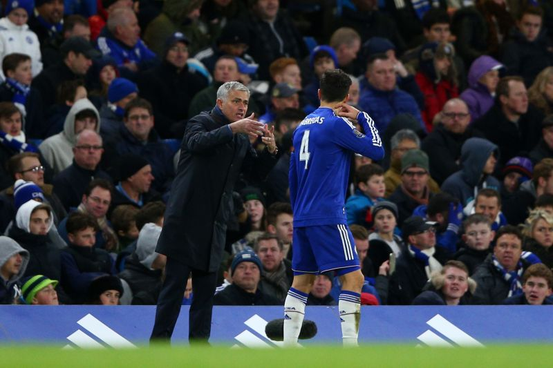 Fabregas won the EPL title with Chelsea under Mourinho