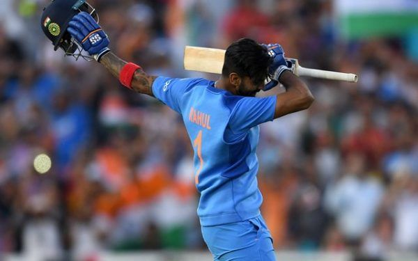 KL Rahul scored his second T20I hundred against England in 2018