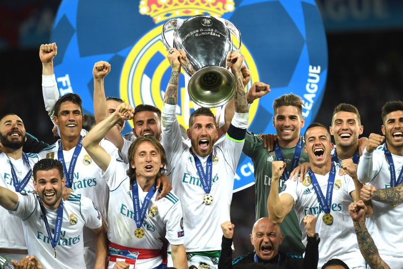 Benzema has lifted the UEFA Champions League trophy four times with Real Madrid