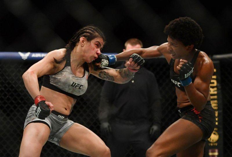 After beating Angela Hill, could Tatiana Suarez be next for Claudia Gadelha?