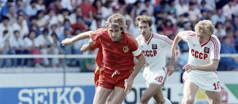 Jan Ceulemans in action for Belgium, Image source: fifa.com