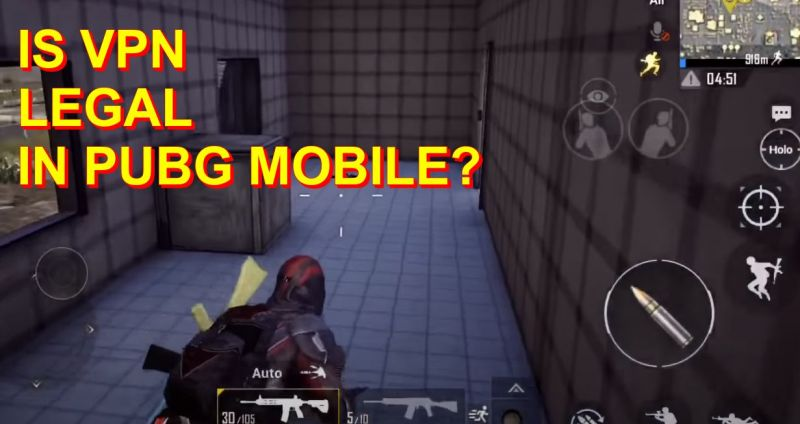Is VPN legal in PUBG Mobile?