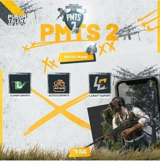 List of team Pic Courtesy: VSG e-Esports