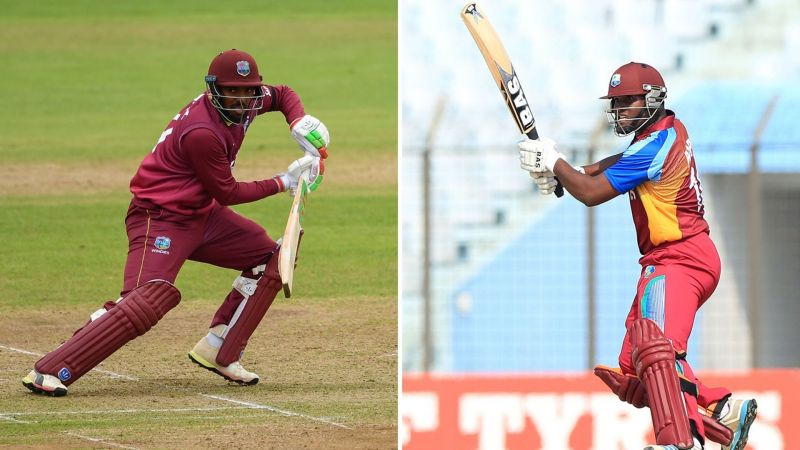 Sunil Ambris (L) has played for the WI senior team