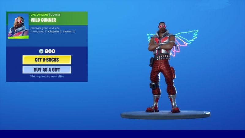 Wild Gunner Skin in Fortnite