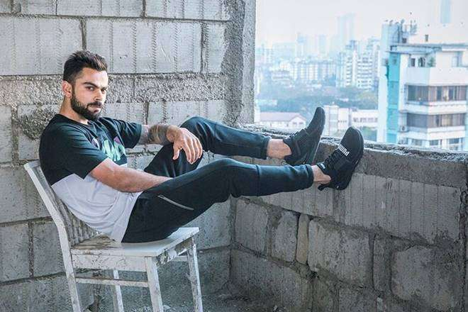 Virat Kohli was signed for Rs 100 crores by Puma in 2017