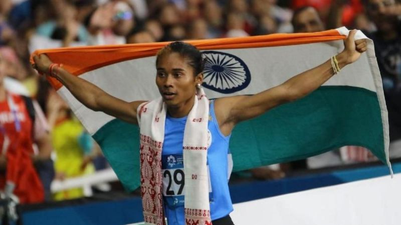 Hima Das has catapulted herself to stardom