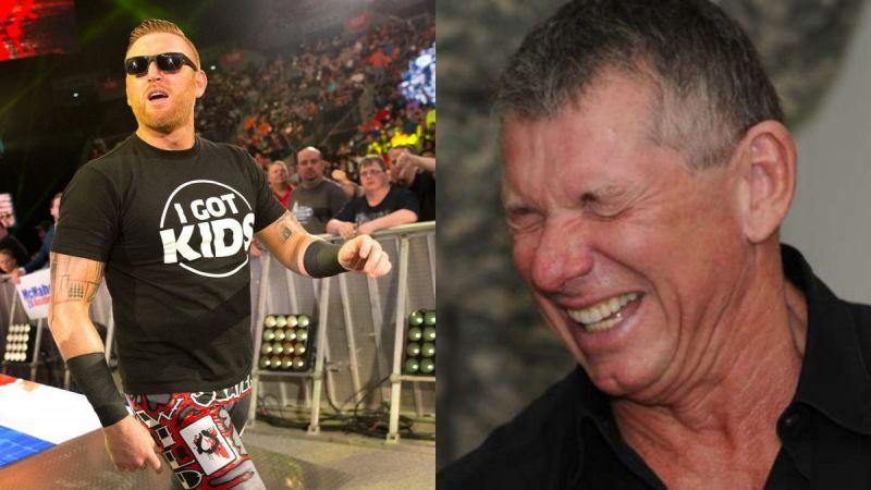 Heath Slater and Vince McMahon