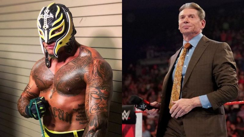 Rey Mysterio and Vince McMahon