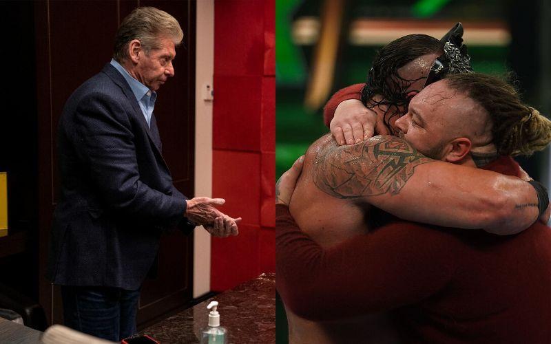 Vince McMahon/Braun Strowman and Bray Wyatt