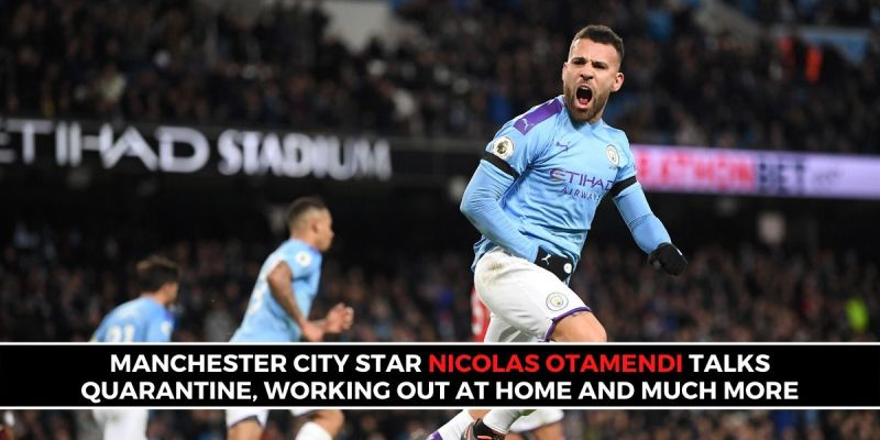 Manchester City and EPL defender Nicolas Otamendi answered fan Q&A questions (Picture: Sportskeeda)
