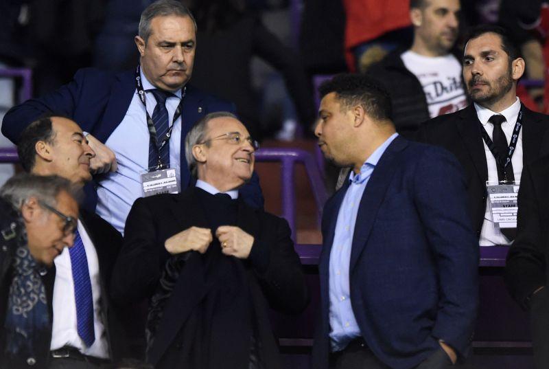 Perez with Zidane