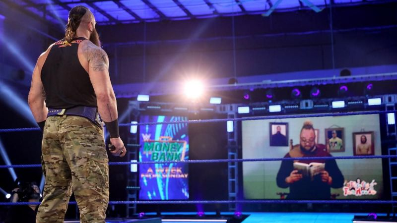 What will happen when Wyatt and Strowman will come face-to-face?