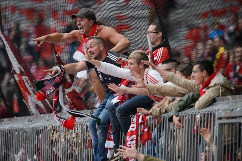 The fan culture in German football is unique and brilliant in equal measure