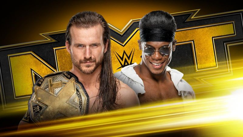 Adam Cole will put his NXT Championship on the line against Velveteen Dream on this week
