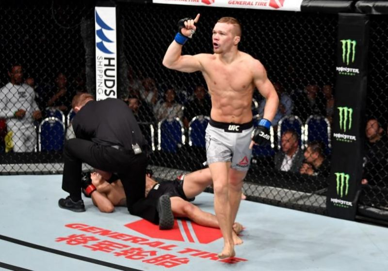Petr Yan should fight for the Bantamweight title vacated by Henry Cejudo