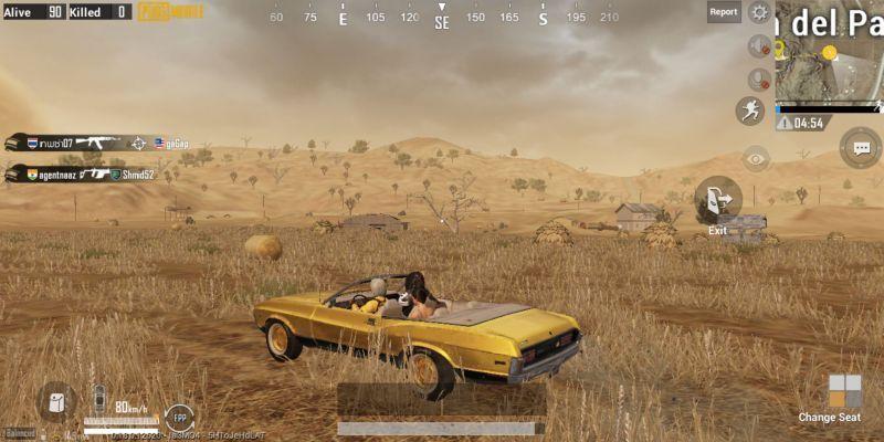 Golden Mirado in PUBG Mobile