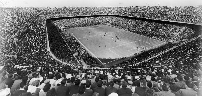 The original San Siro Stadium in 1926