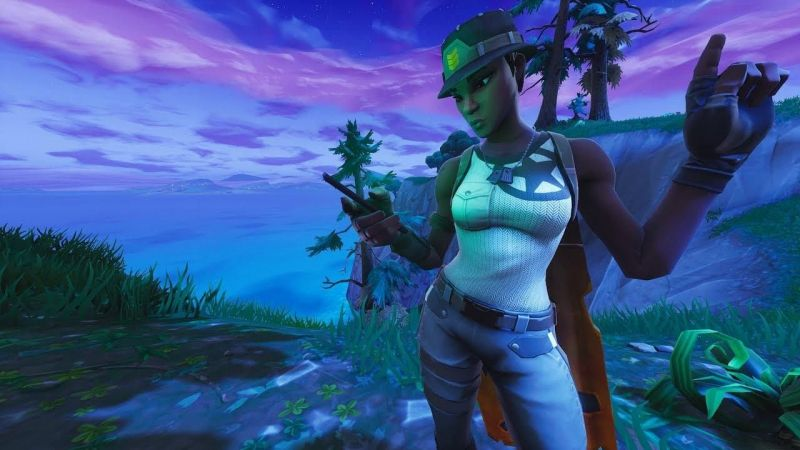 """Fortnite 12.60 update leaks suggests that """"Recon Expert"""" may be back (Image Credits: Wallpaper Cave)"""